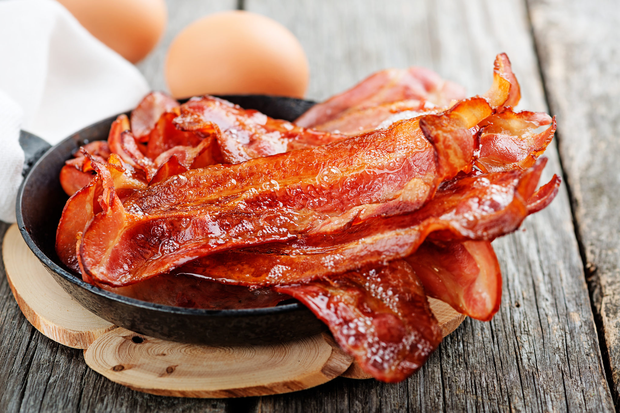 A rasher of bacon ups cancer risk?